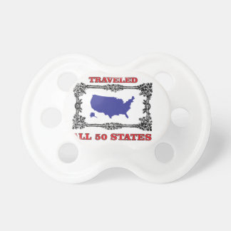 traveled all 50 baby pacifier