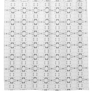 'Traveled' Black and White Pattern