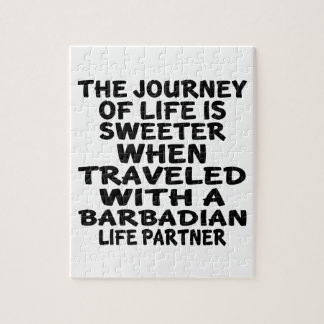 Traveled With A Barbadian Life Partner Jigsaw Puzzle