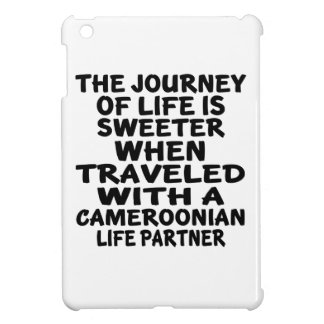 Traveled With A Cameroonian Life Partner Case For The iPad Mini