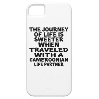 Traveled With A Cameroonian Life Partner iPhone 5 Cases