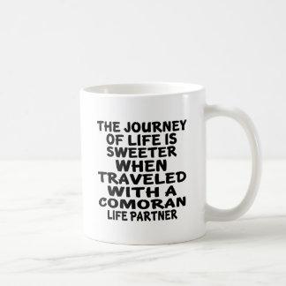 Traveled With A Comoran Life Partner Coffee Mug