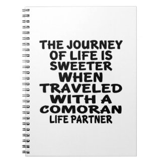 Traveled With A Comoran Life Partner Note Books