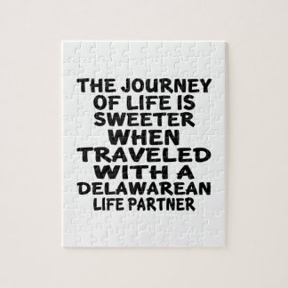 Traveled With A Delawarean Life Partner Jigsaw Puzzle