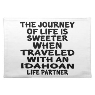Traveled With A Idahoan Life Partner Placemat