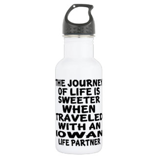 Traveled With A Iowan Life Partner 532 Ml Water Bottle