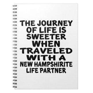 Traveled With A New Hampshirite Life Partner Notebooks