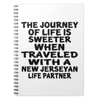 Traveled With A New Jerseyan Life Partner Notebook