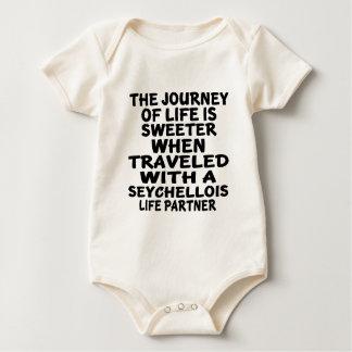 Traveled With A Seychellois Life Partner Baby Bodysuit