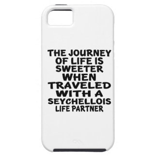 Traveled With A Seychellois Life Partner iPhone 5 Cover