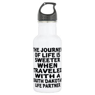 Traveled With A South Dakotan Life Partner 532 Ml Water Bottle