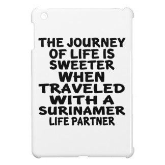 Traveled With A Surinamer Life Partner iPad Mini Cases