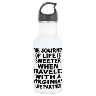 Traveled With A Virginian Life Partner 532 Ml Water Bottle