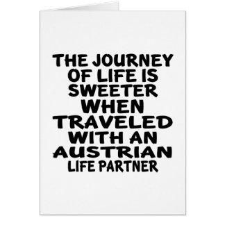 Traveled With An Austrian Life Partner Card