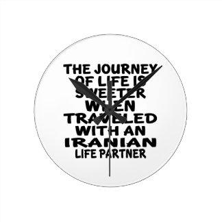 Traveled With An Iranian Life Partner Clocks