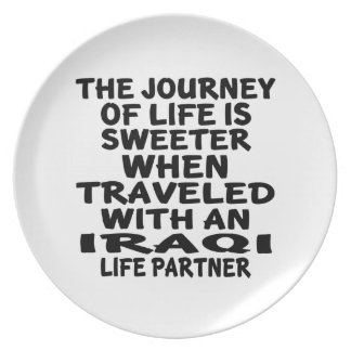 Traveled With An Iraqi Life Partner Plate