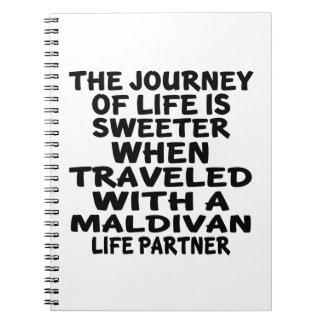 Traveled With An Maldivan Life Partner Notebooks