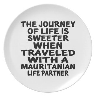 Traveled With An Mauritanian Life Partner Plate