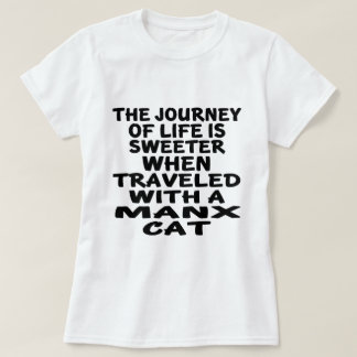 Traveled With Manx Cat T-Shirt
