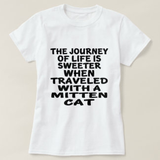 Traveled With Mitten Cat T-Shirt