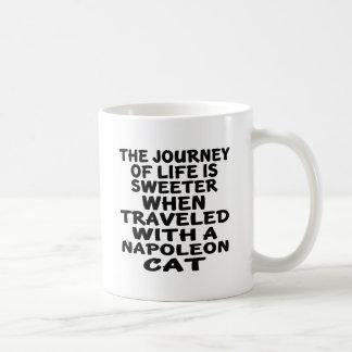 Traveled With Napoleon Cat Coffee Mug