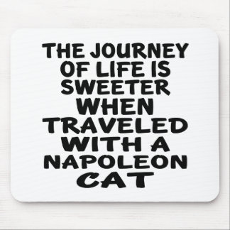 Traveled With Napoleon Cat Mouse Pad