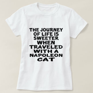 Traveled With Napoleon Cat T-Shirt
