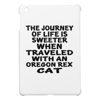 Traveled With Oregon Rex Cat iPad Mini Case