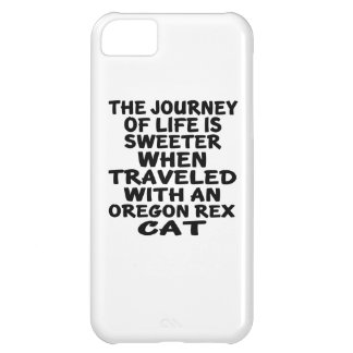Traveled With Oregon Rex Cat iPhone 5C Case