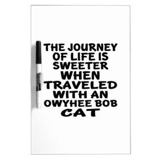 Traveled With Owyhee bob Cat Dry Erase Whiteboard