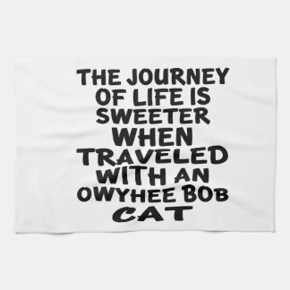 Traveled With Owyhee bob Cat Kitchen Towel