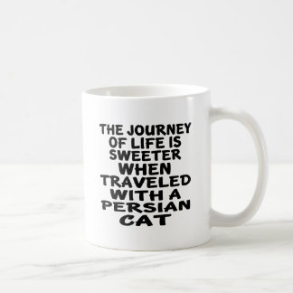 Traveled With Persian Cat Coffee Mug