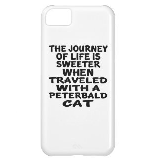 Traveled With Peterbald Cat Cover For iPhone 5C