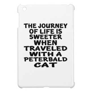 Traveled With Peterbald Cat Cover For The iPad Mini