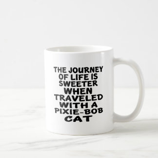 Traveled With Pixie-Bob Cat Coffee Mug