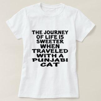 Traveled With Punjabi Cat T-Shirt