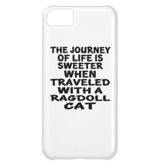 Traveled With Ragdoll Cat Case For iPhone 5C