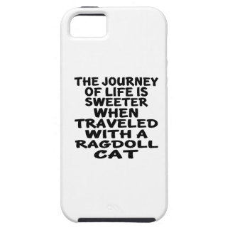 Traveled With Ragdoll Cat Case For The iPhone 5