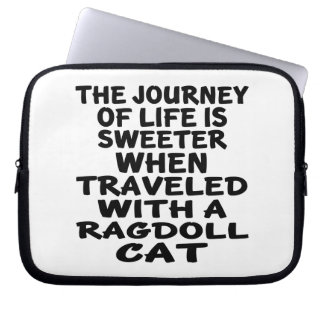Traveled With Ragdoll Cat Laptop Sleeve