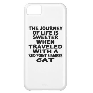 Traveled With Red point siamese Cat Cover For iPhone 5C