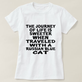 Traveled With Russian Blue Cat T-Shirt