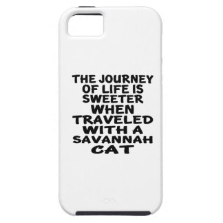 Traveled With Savannah Cat iPhone 5 Cover