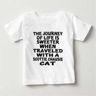 Traveled With Scottie chausie Cat Baby T-Shirt