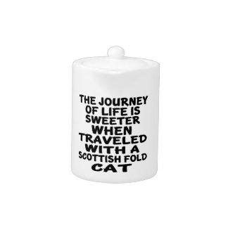 Traveled With Scottish Fold Cat