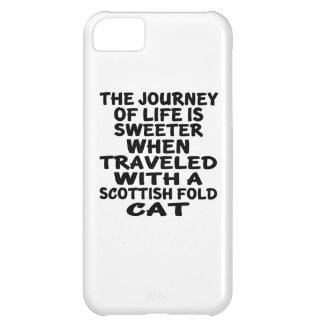 Traveled With Scottish Fold Cat iPhone 5C Cases