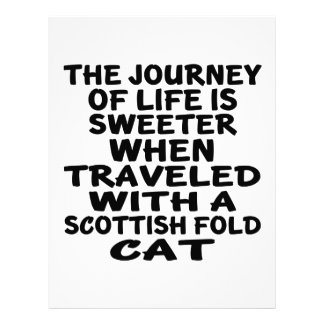 Traveled With Scottish Fold Cat Letterhead