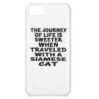 Traveled With Siamese Cat iPhone 5C Covers