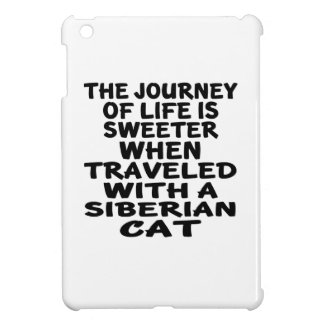 Traveled With Siberian Cat Case For The iPad Mini