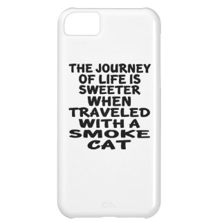 Traveled With Smoke Cat Case For iPhone 5C