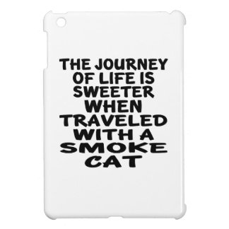 Traveled With Smoke Cat iPad Mini Case